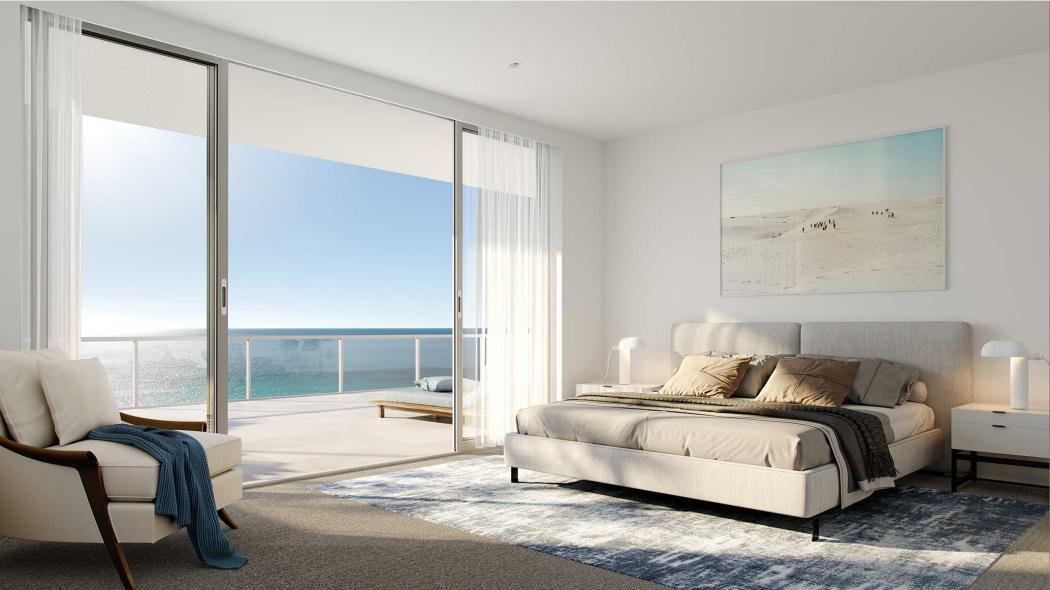 Blog Post Cru Acqua Palm Beach skyhome bedroom Acqua Sky Homes Released