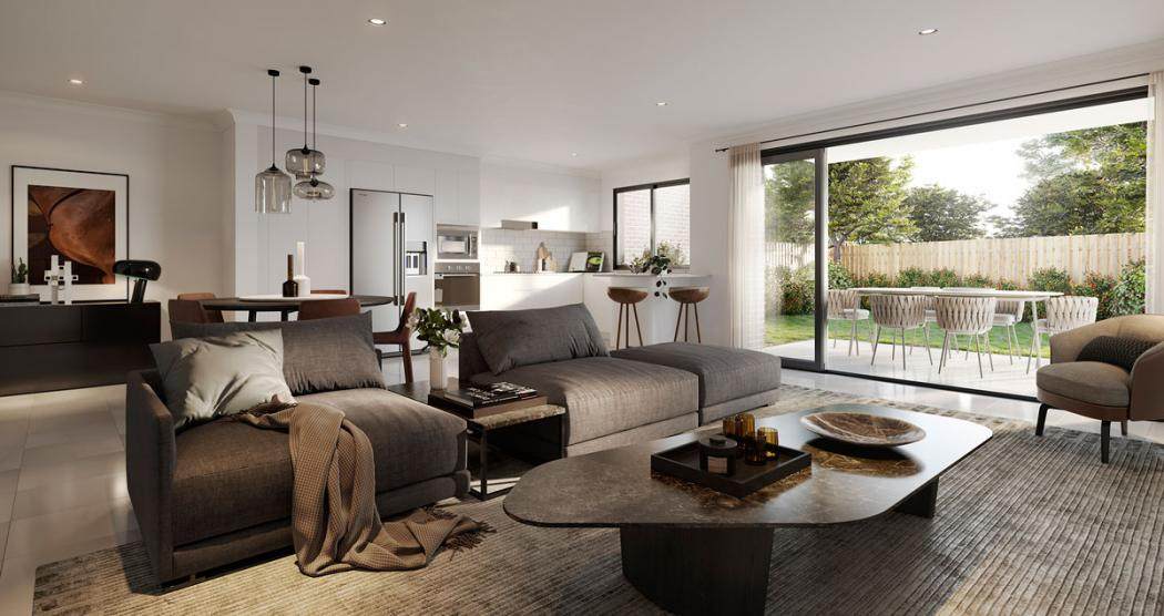 Cru Arcadia Rise lounge FB2 Arcadia Rise - Ideal for First Home Buyers