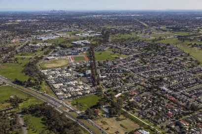 South Morang Aerial LR Projects